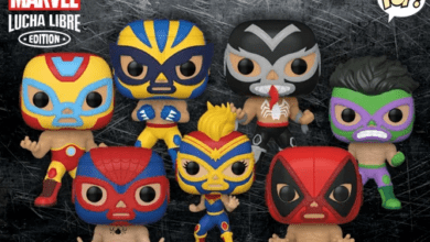 Photo of Marvel Lucha Libra Funko POP! Are Now Available In The US