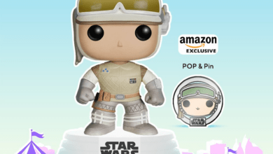 Photo of Funko Fair: Amazon Exclusive Hoth Luke Skywalker POP! & Pin