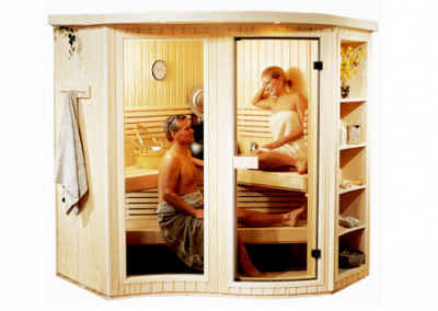 Amberlight Sauna