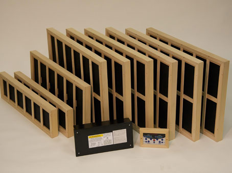 Custom infrared panels
