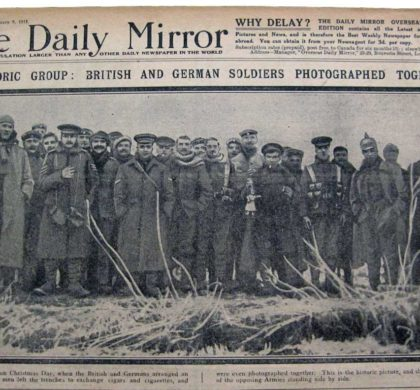 Christmas Truce of 1914 Story Told through Songs and Letters