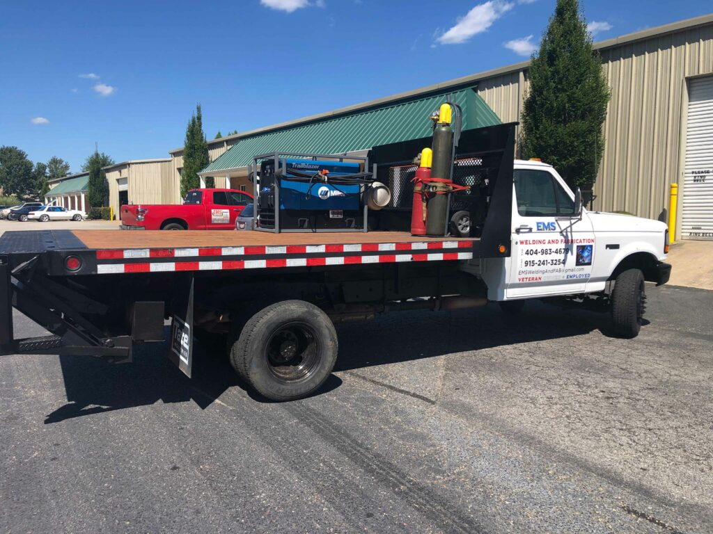 Emergency Machining and Welding Mobile Service
