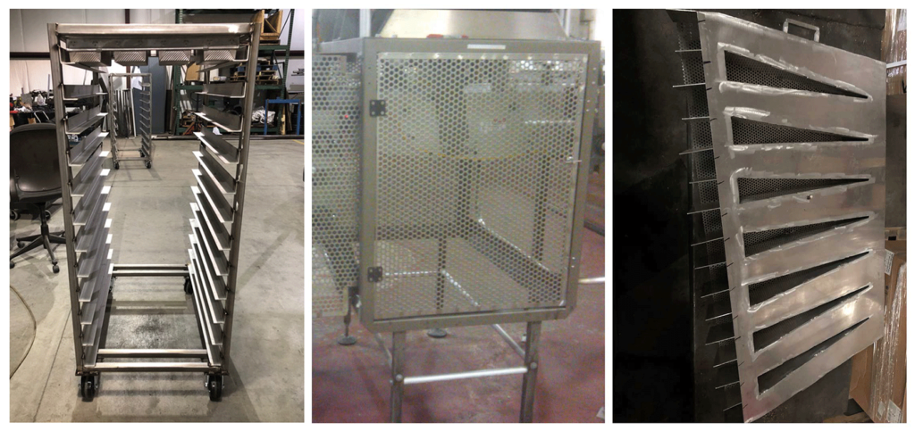 Custom fabricated Food service equipment