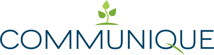 An image depicting the Communique logo without a tagline