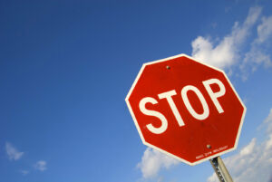 An image depicting a stop sign