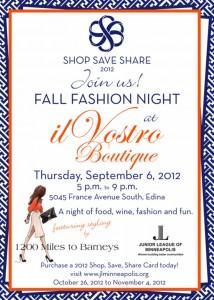Fall Fashion Night