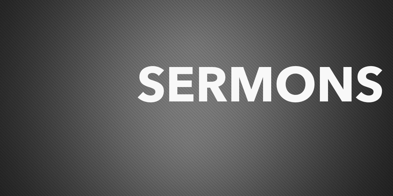 Sermon Feed