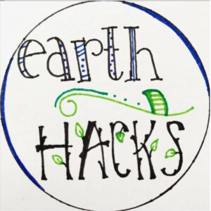 Logo for earth.hacks on Instagram