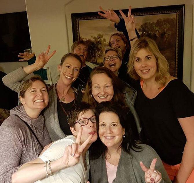 Deborah Wendt and 8 friends