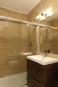 Deco Boutique Hotel- view of shower