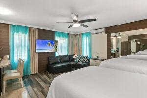 Deco Boutique Hotel- in room tv set