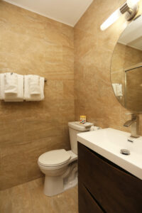Deco Boutique Hotel- view of sink and toilet
