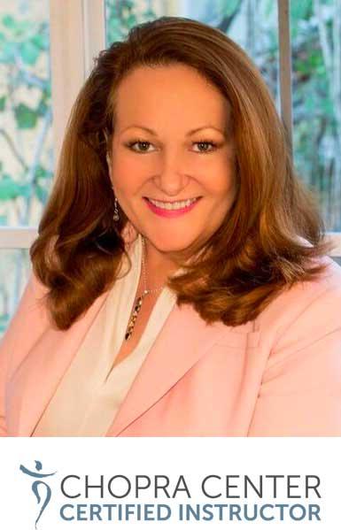Deborah Wendt of Stress Less Yoga the Chopra Center Certified Instructor
