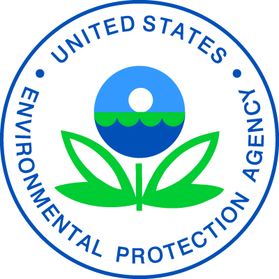 Seal of the EPA. Nuway is EPA compliant