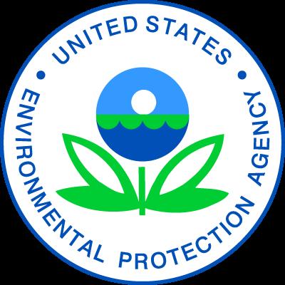 Seal of the EPA. Nuway is EPA compliant
