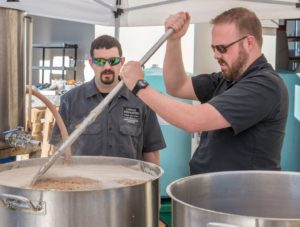 Andrew Durstewitz, co-owner of D9, stays involved in every step of the brewing process, producing top quality, every time.