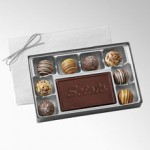 Truffles Gift Box with Customizable Center Piece