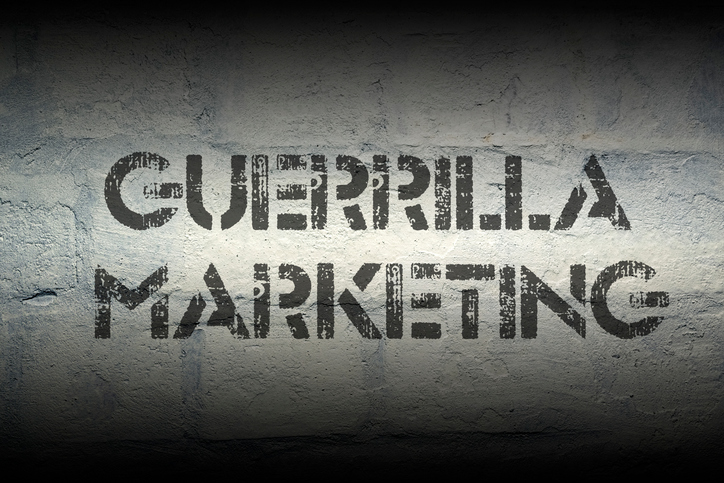 How Guerilla Marketing Can Make You King of the Jungle