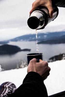 drinkware in winter