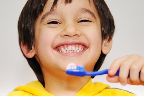 Encourage children's dental health