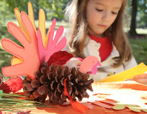 Thanksgiving imagery for promotional items