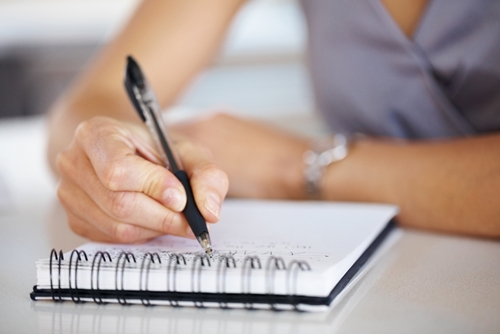 The benefits of distributing customized notepads