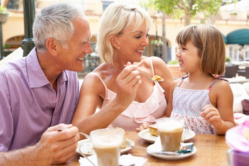 Use promotional items to celebrate Grandparents Day