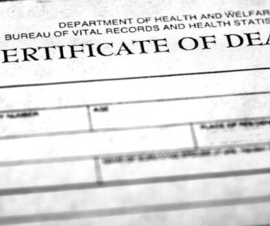 How long does it take to get a death certificate.