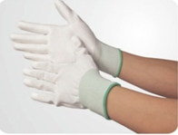 Finger coated anti-static Gloves LH-153 size:S/M/L