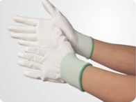Full Palm Rubber-coated anti-static Gloves LH-152 size:S/M/L