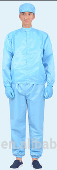cleaning jumpsuits antistatic clothes