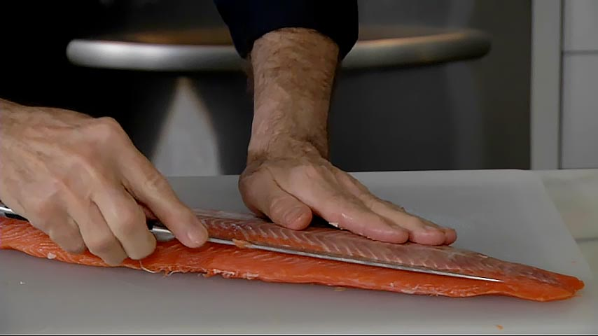 Boning, Cutting and Serving Salmon