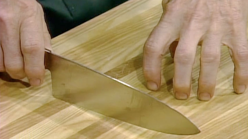 Knife position