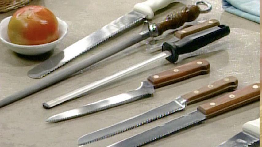 Choosing and Sharpening Knives