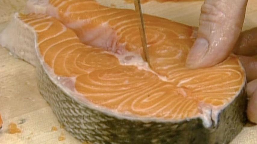 salmon steaks three ways