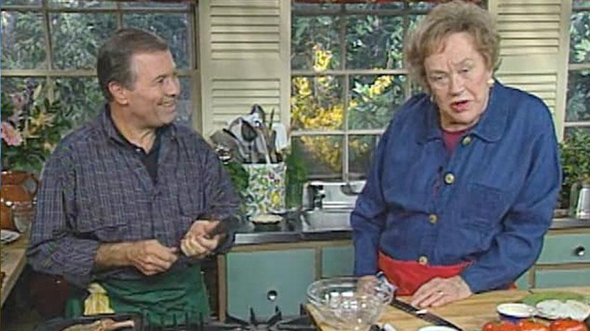 Jacques and Julia make pork