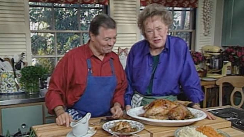 Jacques and Julia make a turkey feast