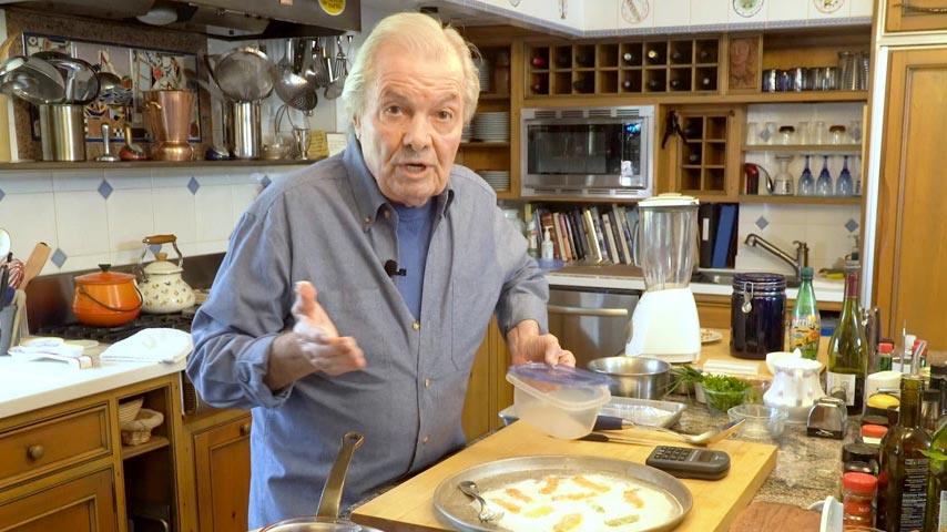 Jacques Pépin makes citrus peel and chocolate