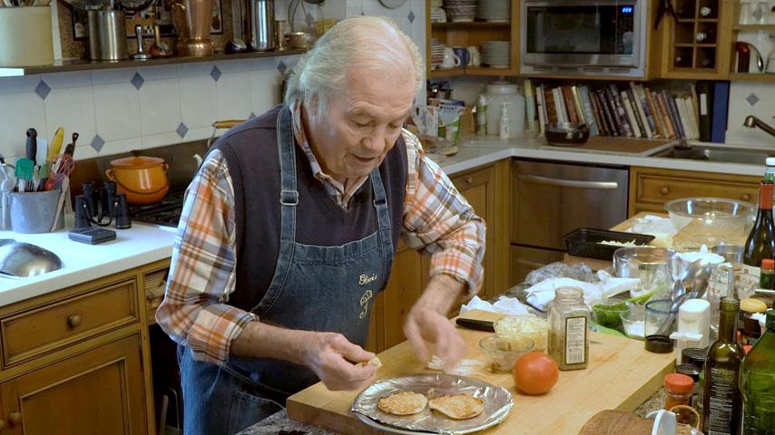 Jacques Pépin makes Gloria's sandwich