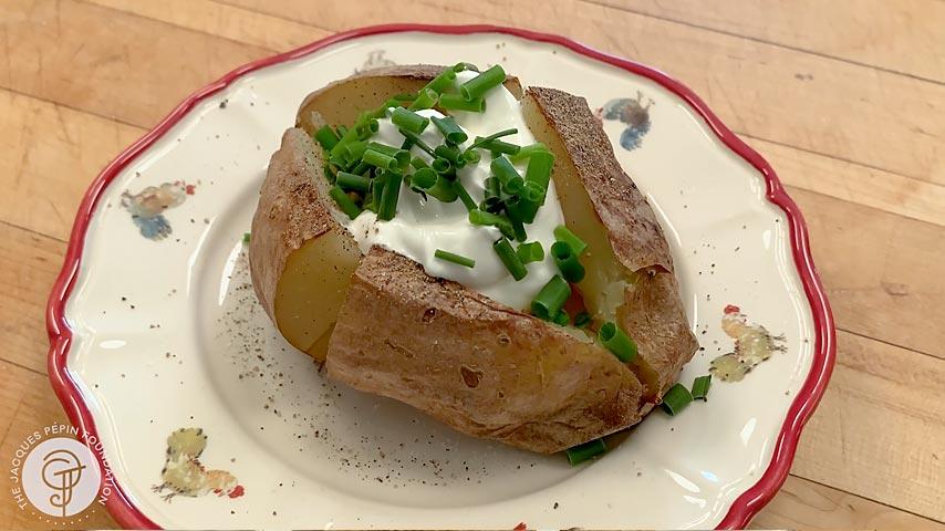 Fast Baked Potato