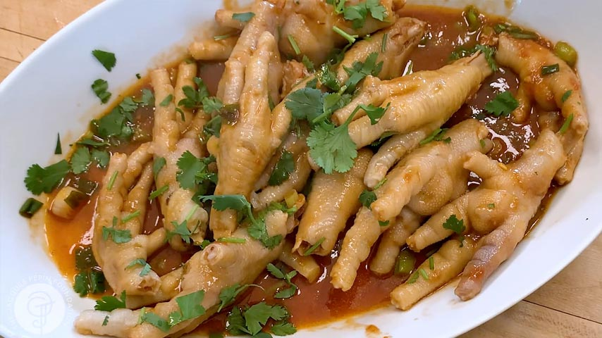 Chicken Feet in Chinese Spicy Sauce