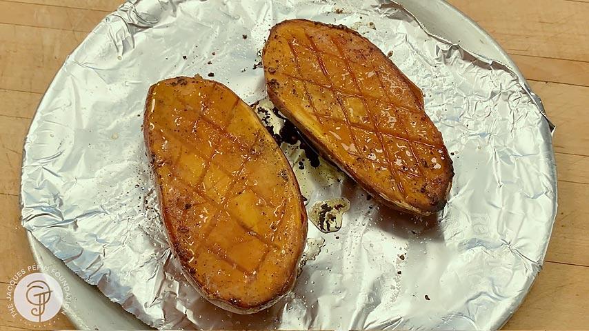 Honey Roasted Sweet Potato