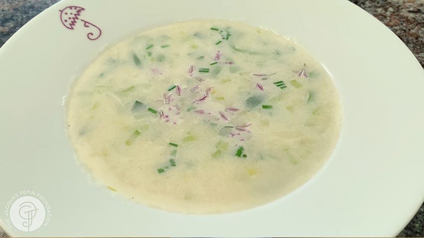 Instant Potato-Leek Soup