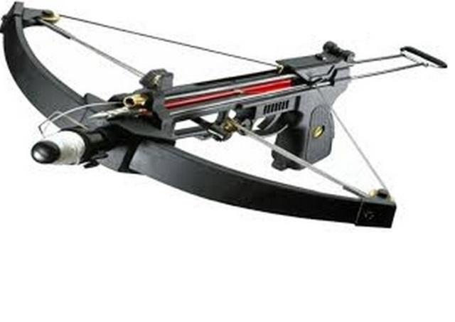 Pistol crossbow fishing crossbow
