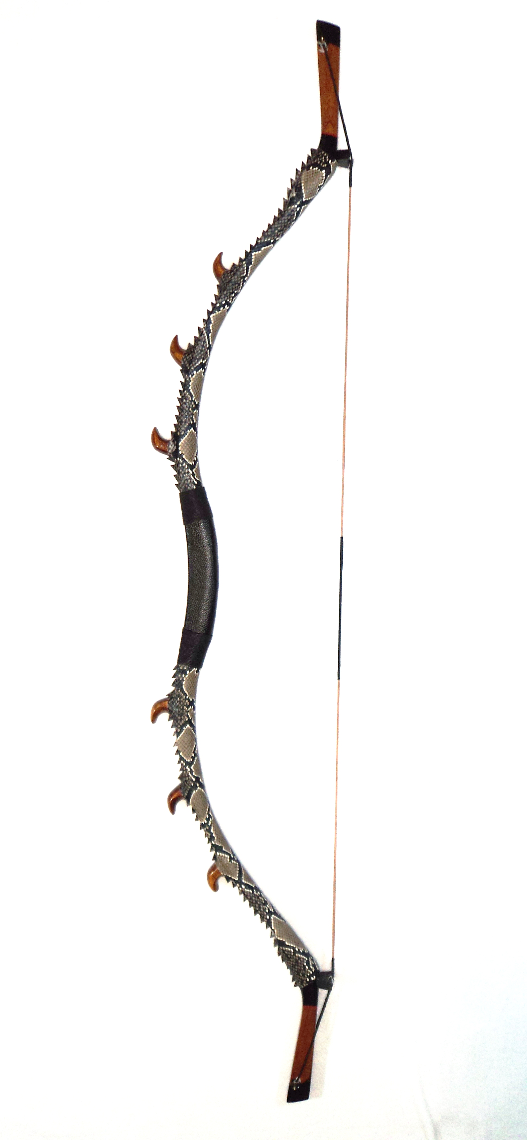 Traditional bow dragon claw