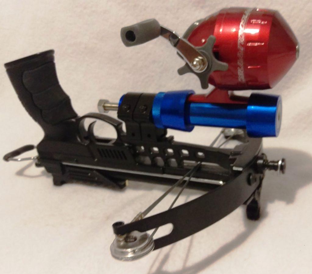Fishing pistol crossbow