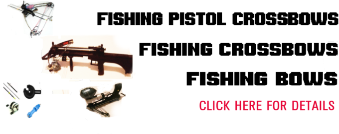 Fishing crossbows