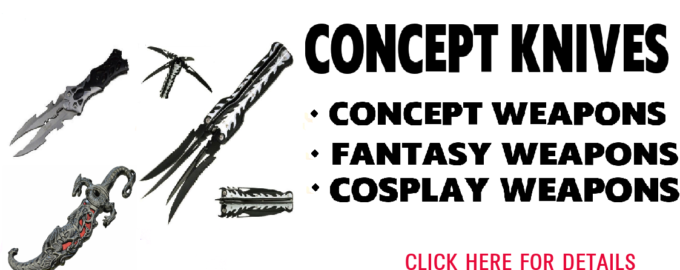 concept knife fantasy knife cosplay