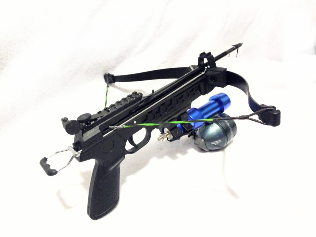 MONGOOSE 80 lbs fishing crossbow