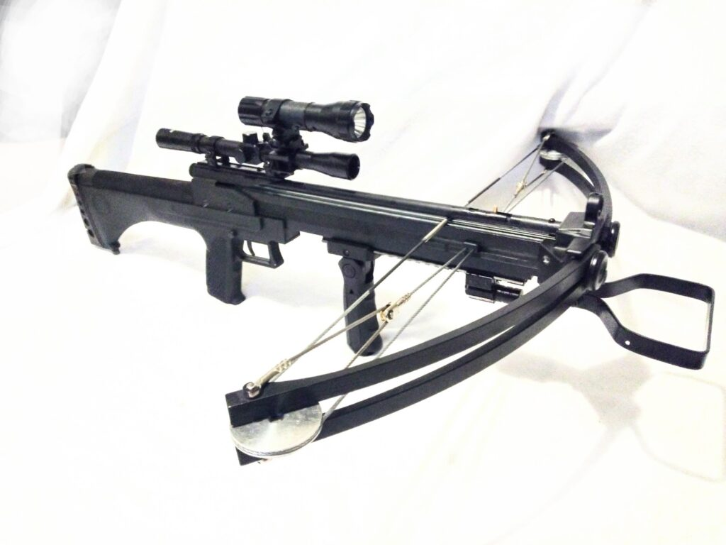 WT-STALKER II repeating compound Tactical crossbow steel balls & arrows